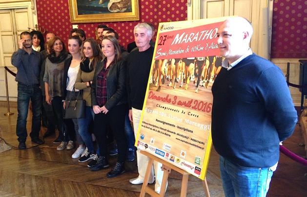 27e édition du Marathon–semi Marathon et 10 Km d'Ajaccio : La course au cœur de la ville
