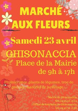 5ème édition du marché aux fleurs de Ghisonaccia