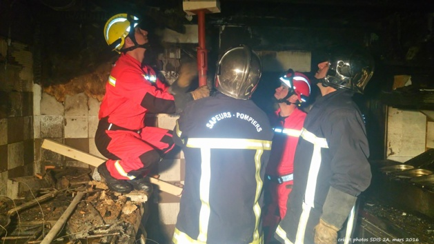 Ajaccio : Incendie dans les cuisines d'un restaurant