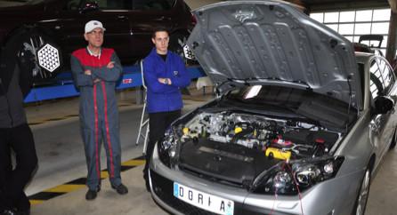 Semaine nationale de l'automobile : Un véhicule pédagogique pour le CFA de Furiani