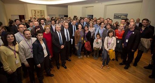 Les congressistes de l'ALE reçus à l'Assemblée de Corse.