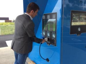 Bastia : La première station de recharge pour véhicules électriques 100% solaire