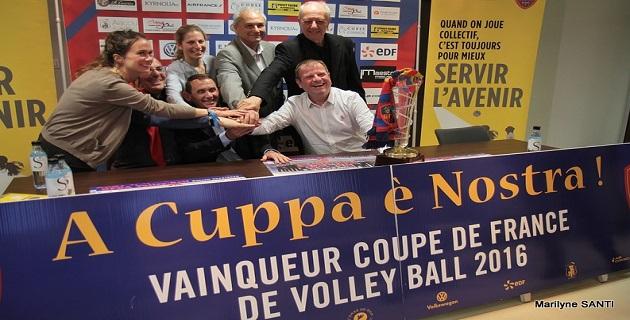 Bpifrance partenaire du GFCA Volley pour la seconde année