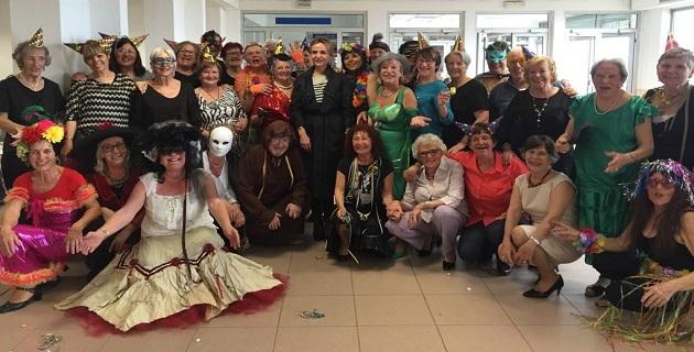 """Ajaccio :""""La maison des aînés"""" a fait son carnaval"""