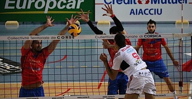 Volley-Ball : Défaite du GFCA à Sète (3-0)