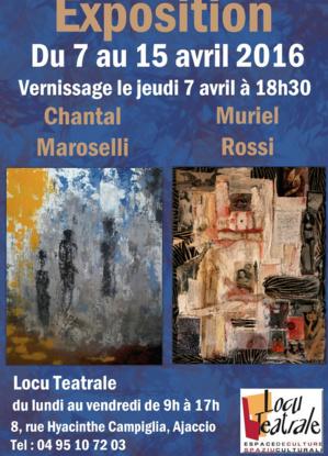 Ajaccio : Chantal Maroselli et Muriel Rossi à Locu Teatrale