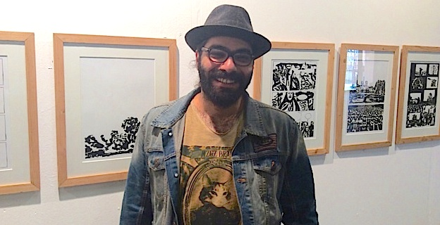 Hamid Sulaiman a clôturé l'édition 2016 du festival BD à Bastia