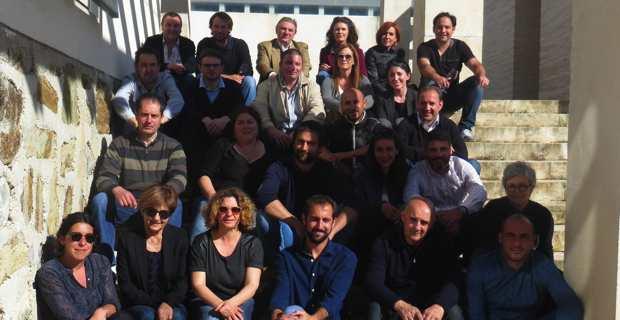 Les jeunes vignerons de l'AOC Patrimoniu ont présenté le Millésime 2015 à la Maison des vins.