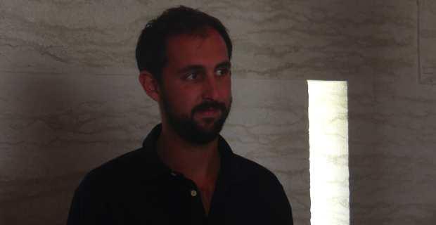 Mathieu Marfisi, jeune vigneron du Clos Marfisi, nouveau président de l'Appellation Patrimoniu.