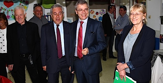 Alain Thirion, préfet de Haute-Corse, à la rencontre des élus de Calvi