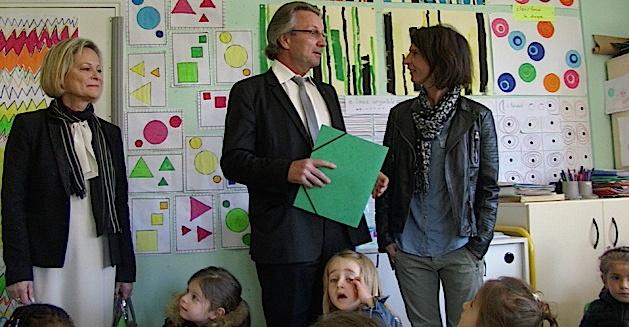 Le nouveau recteur d'académie à Bastia : Première visite pour l'école bilingue René-Subissi
