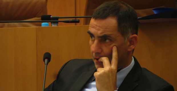 Gilles Simeoni, président du Conseil exécutif de Corse.