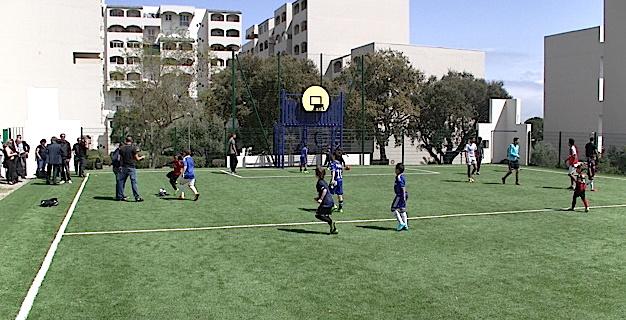 Nouveau terrain multisports dans les quartiers sud de Bastia