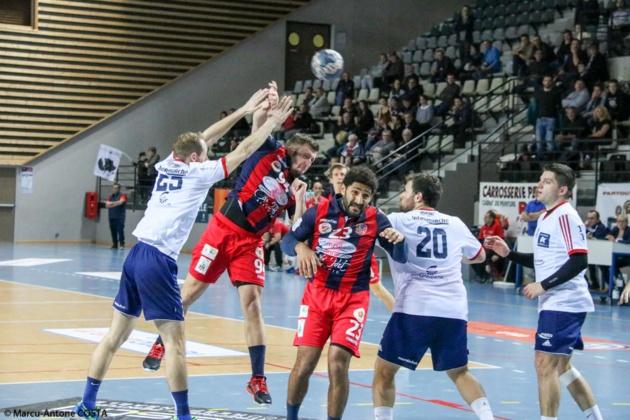 Handball N1M : Sévère défaite pour le GFCA à Bagnols (33-16)