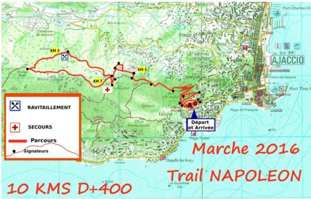 La Marche Solidaire du Trail Napoléon au profit de l'AFD20