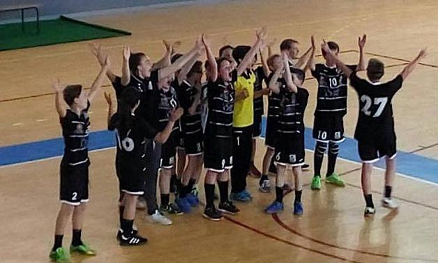 Les  -13 ans mixtes du Handball Ajaccio Club, champions de Corse