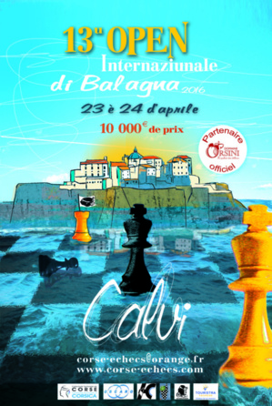 13e Open International d'échecs de Calvi samedi et dimanche