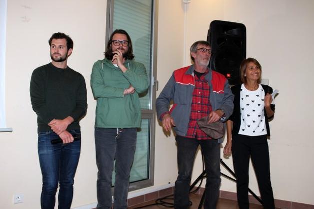"""Accueil chaleureux à Calvi pour le film  """"Les exilés"""" en présence de l'acteur  Jérémy Alberti"""