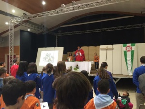 Bastia : Les scouts fêtent la Saint Georges
