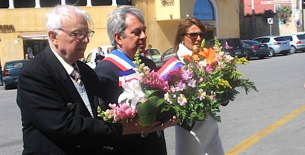 Cérémonie à Calvi pour honorer la mémoire des Déportés