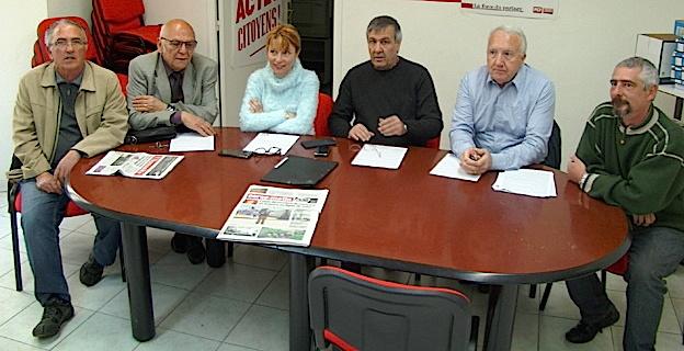 Bastia  : Le PCF contre hausse du prix de l'eau, pour la construction de logements sociaux