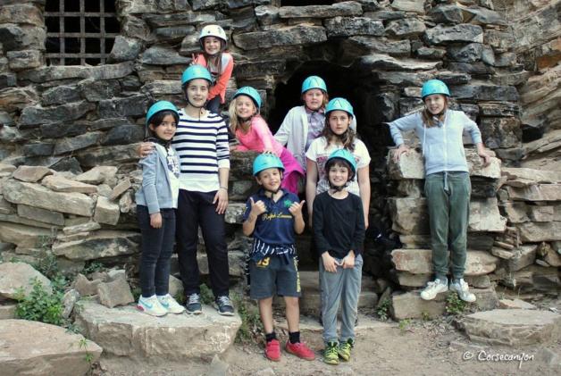 Grotte de Brandu : Les spéléologues en herbe de Corse Canyon