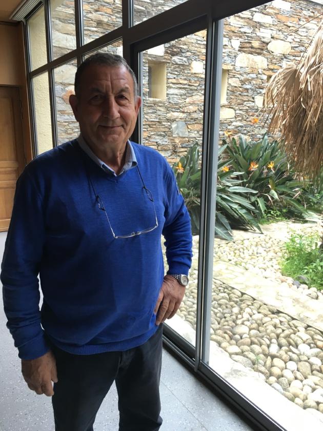Jean-Jacques Franceschini à l'initiative de cinq conventions passées entre son association et des établissements scolaires de haute corse.