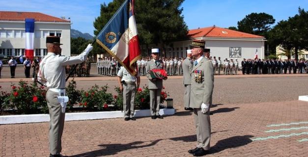 Haute distinction pour le 2e Regiment Etranger de Parachutistes de Calvi