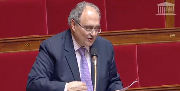 Paul Giacobbi évoque les nuisances sonores de la BA 126  à l'Assemblée nationale
