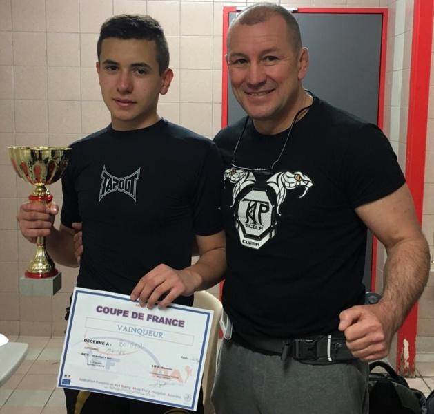 Coupe de France de Pancrace : Hugo Boigeol (14 ans) roi de sa catégorie