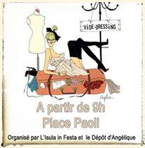 L'Ile-Rousse : Vide-dressing place Paoli