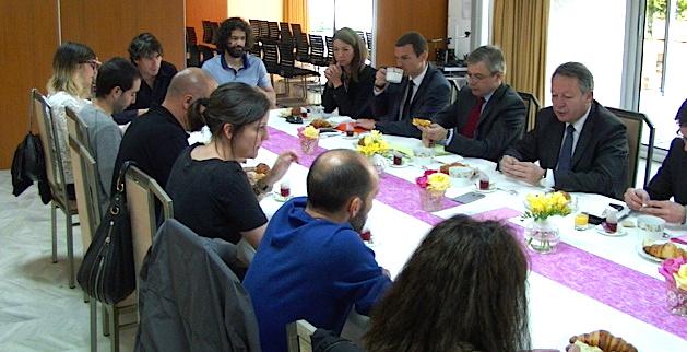 Infrastructures et aides aux déplacements : Thierry Braillard débat avec les acteurs du mouvement sportif et les élus