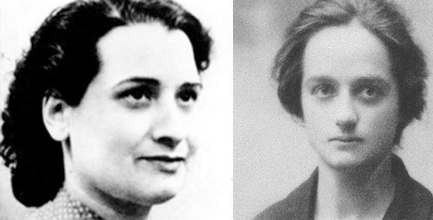 Danielle Casanova et Maria de Peretti
