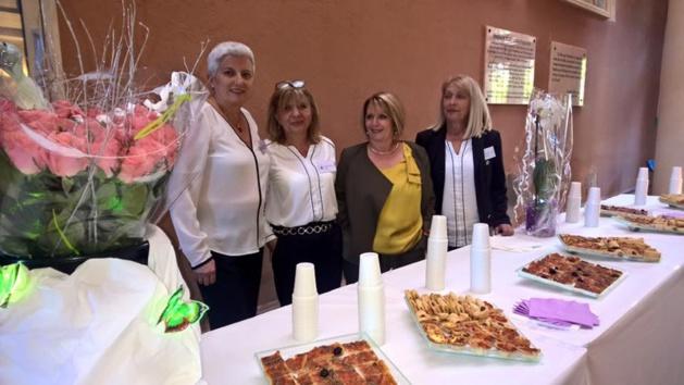 Ajaccio : Jeannette D'Orazio fêtée à la mairie