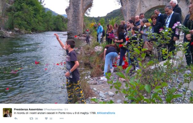 """Ponte-Novu : """"O Corsu ùn ti scurdà di a to storia"""""""