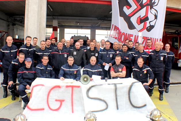 Intersyndicale des sapeurs-pompiers de Haute-Corse : Toujours la grève administrative
