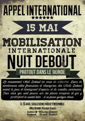 """Le 15 Mai, """"Nuit Debout"""" arrive à Bastia"""