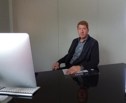 François Sisti chef d'entreprise fromagère.