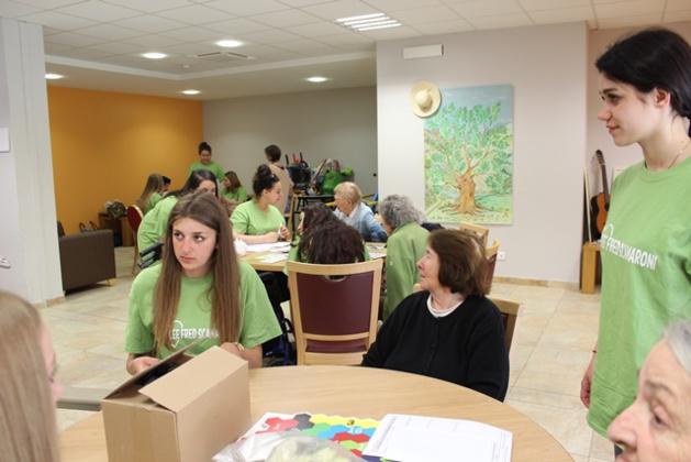 Bastia : Le Lycée Scamaroni fait la cure de jouvence à l'Ehpad...