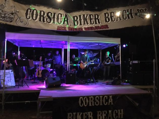 Corsica Biker beach 2016