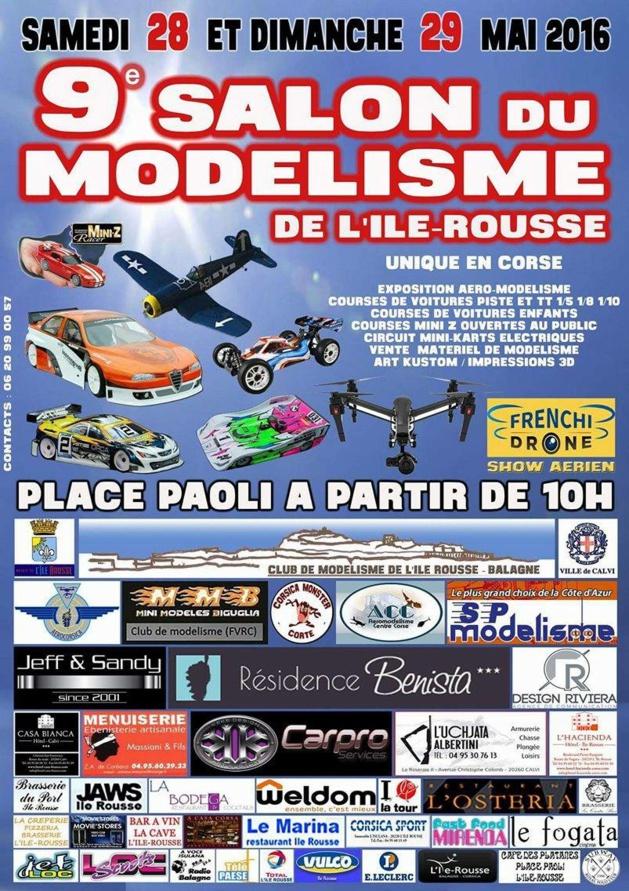 9e Salon régional  du modélisme les 28 et 29 mai à L'Ile-Rousse