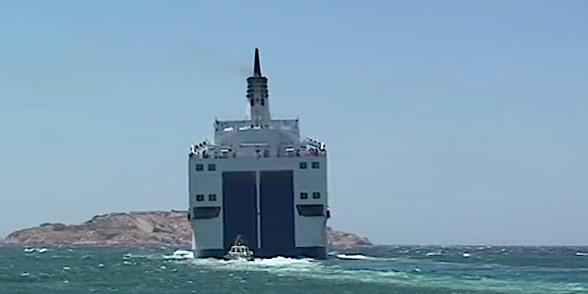 """Le """"Méditerranée"""" dérouté pour porter secours à un voilier"""