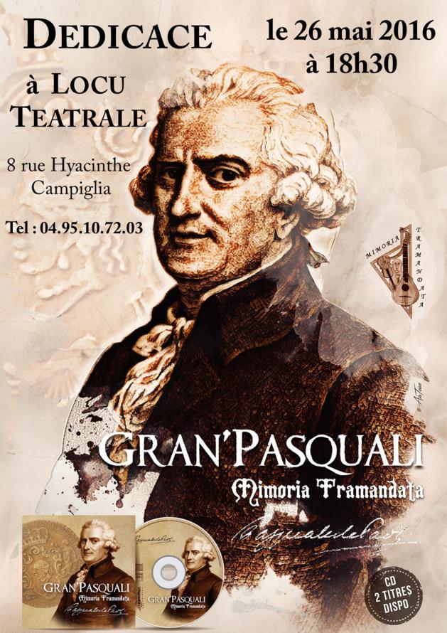 Mimoria Tramandata « Gran'Pasquali » à Locu Teatrale