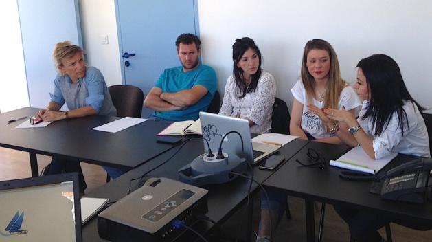 Port Charles-Ornano : Les agents portuaires de l'U.P.P. Corse se familiarisent avec le logiciel Magelan