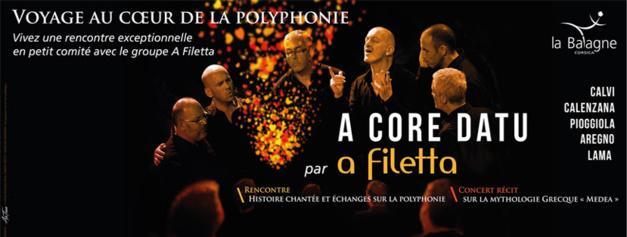 «A Core Datu» Voyage au cœur de la polyphonie avec A Filetta