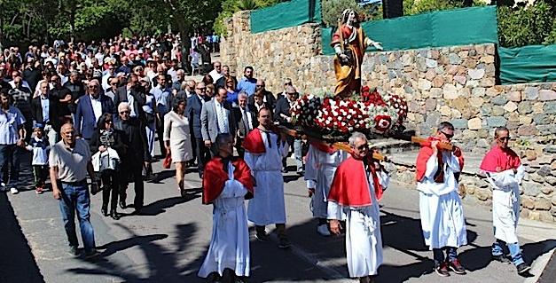 L'évêque de Corse à Calenzana pour le pèlerinage di Santa Restituda