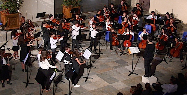 """""""Concerto grosso"""" de Vaughan Williams : Le beau final de la Nuit des musées à Bastia"""