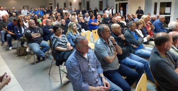 Forte mobilisation pour soutenir Saveriu Luciani.