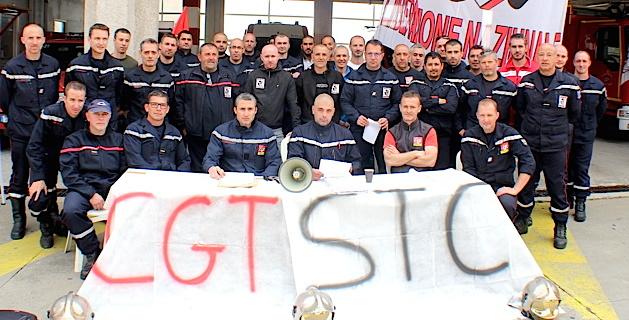Les pompiers de Haute-Corse étaient en grève administrative depuis un mois