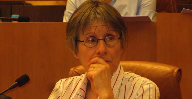 Agnès Simonpietri, conseillère exécutive en charge des déchets et présidente de l'Office de l'environnement.